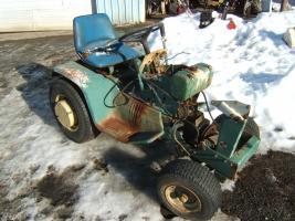 $950, 1969 John Deere Patio Tractor No Engine Or Hood $1000
