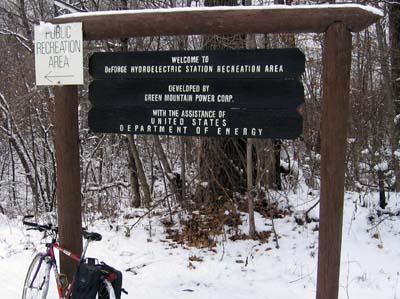 Recreation Area in Duxbury sign