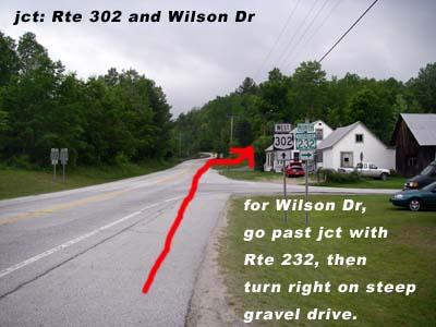 jct Rte 302-Wilson Dr