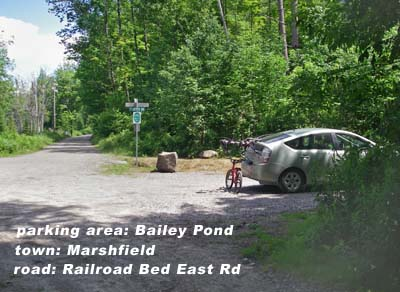 Bailey Pond parking