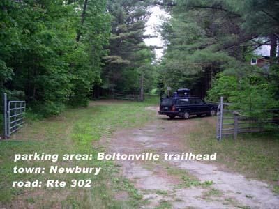Boltonville trailhead parking