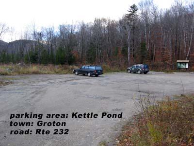 Kettle Pond parking