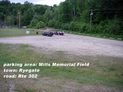 Mills Memorial Field parking