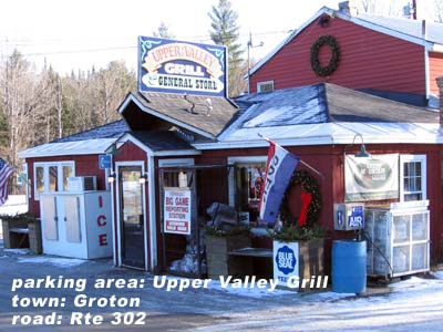 Upper Valley Grill parking