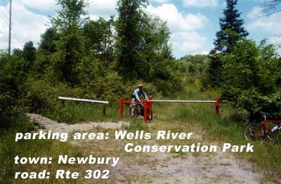 Wells River Cons Park parking
