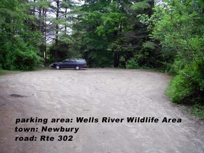 Wells River WMA parking