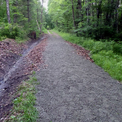 gravel trail