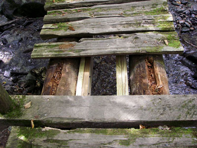 log bridge repair